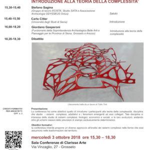 03/10/2018 Teoria della Complessità